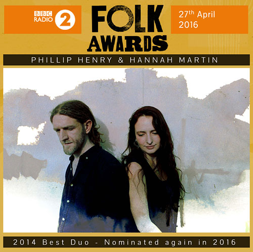2016 BBC Radio 2 Folk Awards - nominated Best Duo
